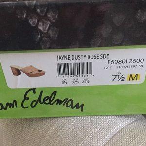 031c0d3c57a Sam Edelman Shoes - NIB Sam Edelman Jayne Dusty Rose Platform Sandal
